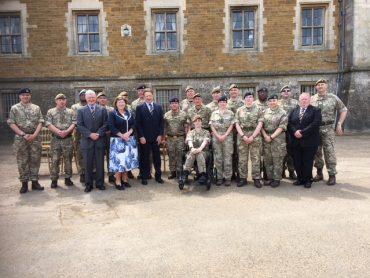 Cadet Force Commission Parade at Belvoir Castle-2nd June 2018
