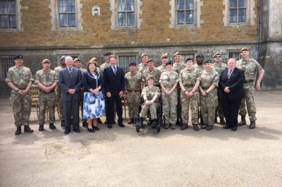 Cadet Force Commission Parade at Belvoir Castle-2nd June 2018