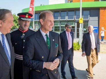 HRH The Earl of Wessex visits Hertfordshire-26th June 2018