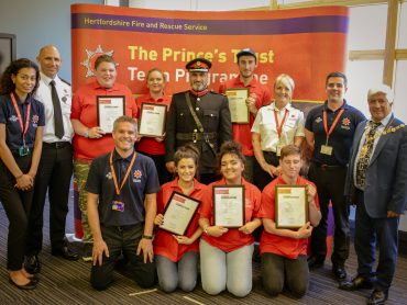 Prince's Trust Watford Team Sixteen Presentation