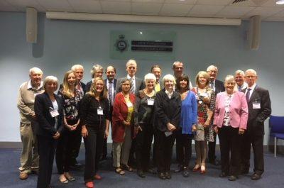 DLs visit Hertfordshire Police HQ in Welwyn Garden City