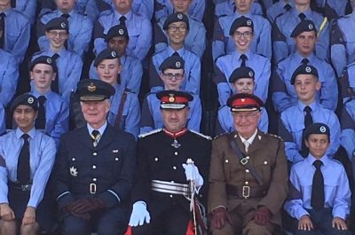 A day at RAF Halton with the Herts & Bucks Wing Air Training Corps