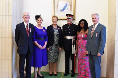 British Empire Medal Awards – October 2018