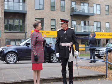 HRH The Princess Royal opens the new CAB in South Oxhey