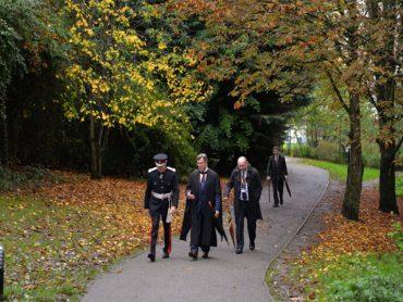 Lord-Lieutenant visits Bishops Stortford College