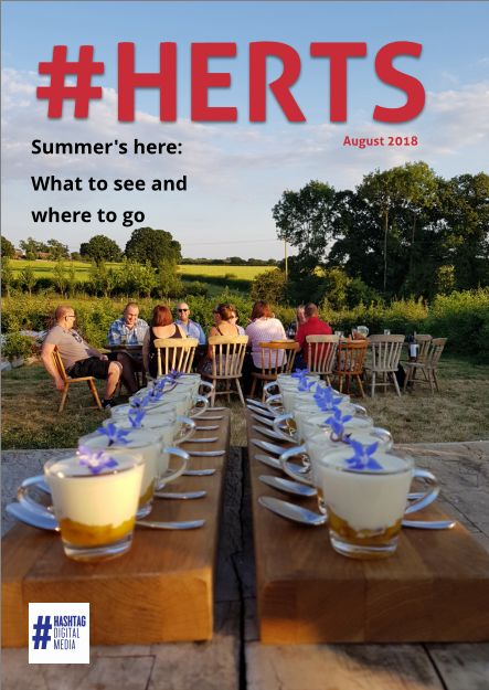 Lord Lieutenant writes for #HERTS August online Magazine