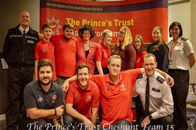 Prince's Trust Awards presentations in Hertfordshire