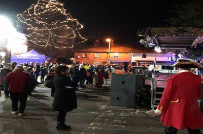 Lord-Lieutenant Opens Winter Fair in Rickmansworth