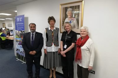 Meeting with Chief Inspector Lynda Coates in St.Albans