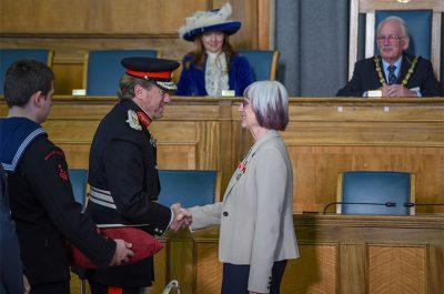 Presentation of British Empire Medals to 10 Hertfordshire Residents