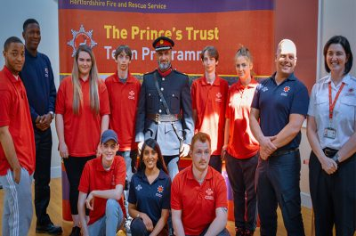 Prince's Trust Awards 2019 presentations in Hertfordshire