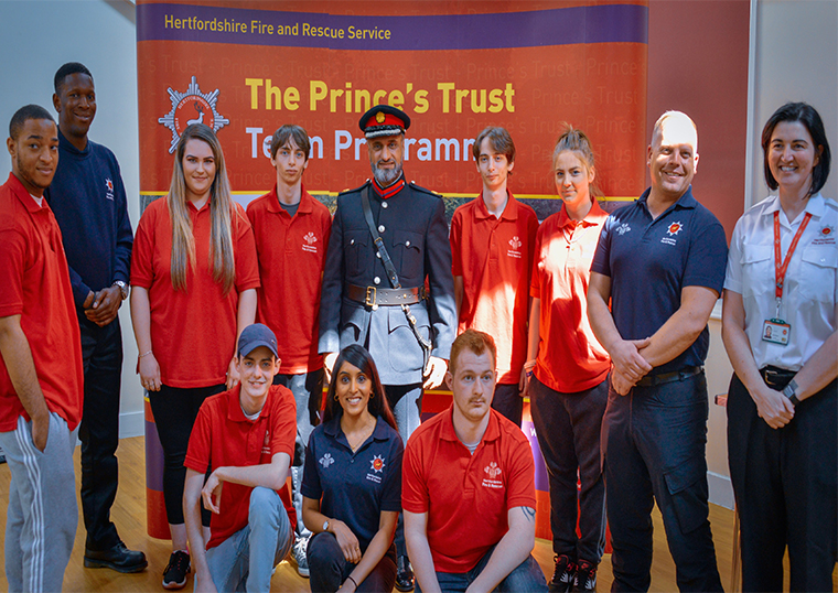 Prince's Trust Awards 2019 presentations in Hertfordshire