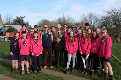 Hertfordshire Scouts Jamboree Launch