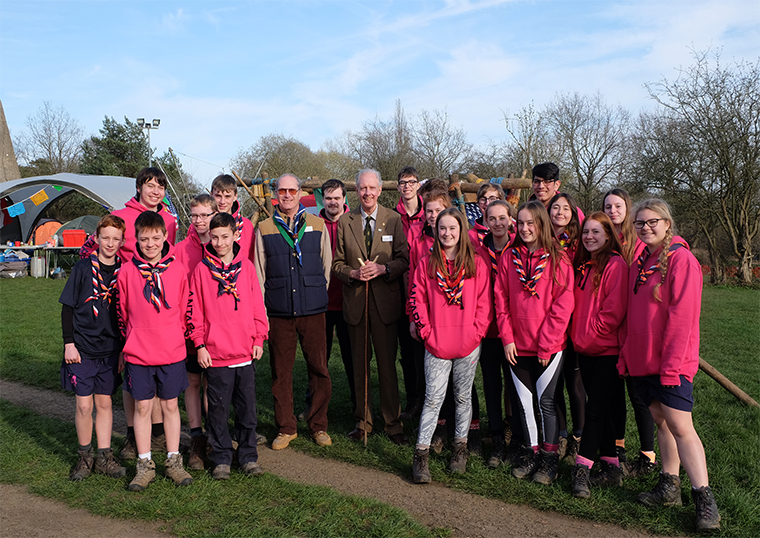 Hertfordshire Scouts Jamboree Launch