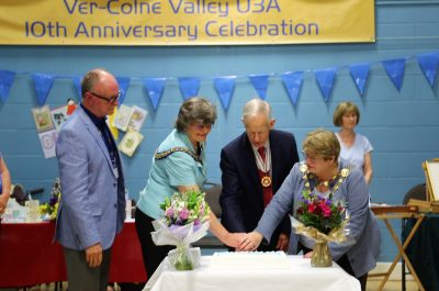 Ver-Colne Valley U3A Group 10th Anniversary Celebration