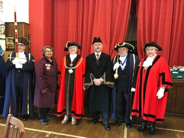 The New Mayor of Hertford's Civic Service