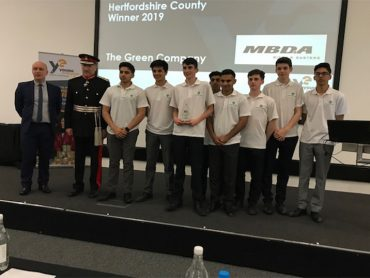 Young Enterprise Hertfordshire finals