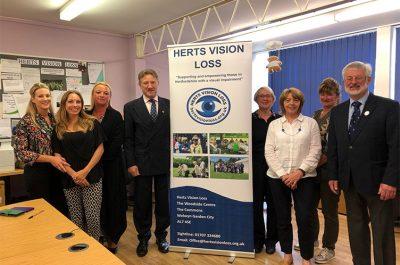 Herts Vision Loss Visit