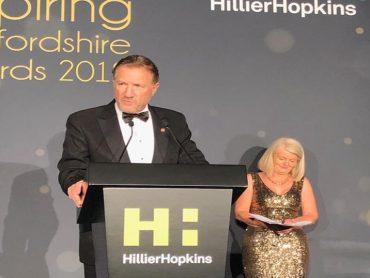 Inspiring Hertfordshire Awards at St. Albans Cathedral