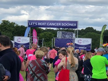 Race For Life in Cassiobury Park