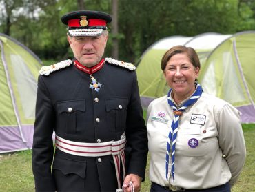 Lord-Lieutenant appointed President of Hertfordshire Scouts