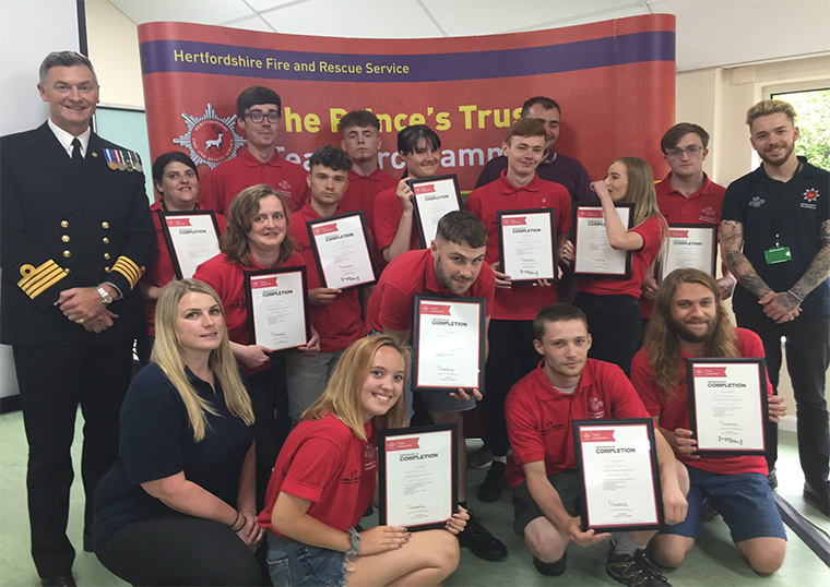 Prince's Trust WGC Team 13 Awards Ceremony