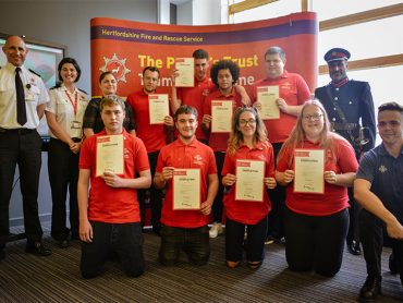 Prince's Trust Watford Team 19 Awards Ceremony