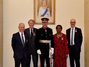 Presentation of British Empire Medals