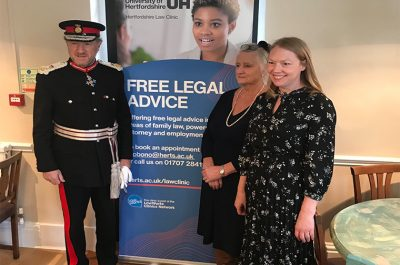 University of Herts Family Law Clinic at Future Living in Hertford