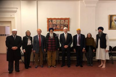 Hertfordshire Lieutenancy visit to the Watford Gurdwara