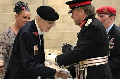 WWII Veterans Honoured at Remembrance Service in de Havilland Air Museum