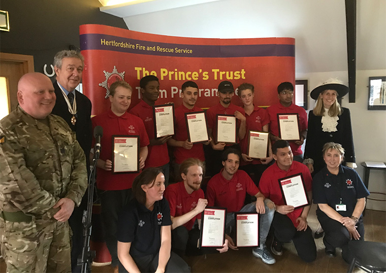 Prince's Trust Team 14 – Welwyn and Hatfield