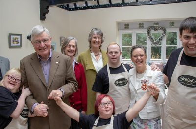 Opening of Bridget's Tea Room at Ware Priory