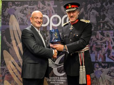 OPRO Presented with Queen's Award for Innovation