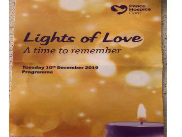 Peace Hospice Remembrance Service