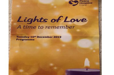 Peace Hospice Remembrance Service