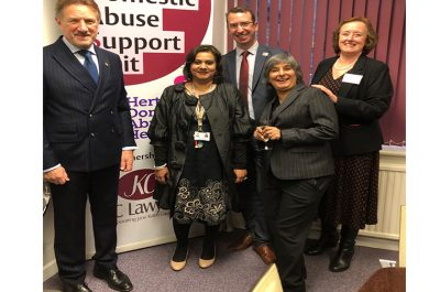 Opening of Watford Domestic Abuse Drop-in Centre