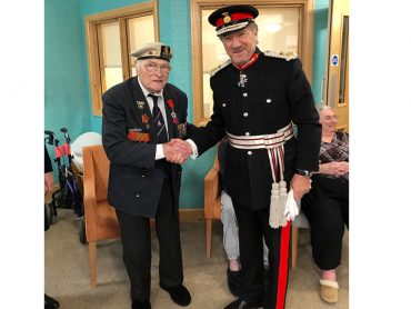 David Kennedy presented with Legion d'Honneur Medal