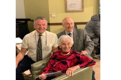 Magnificent Lore celebrates her 100th Birthday