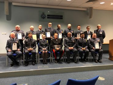 Herts & Bucks Wing Air Cadets Staff Awards