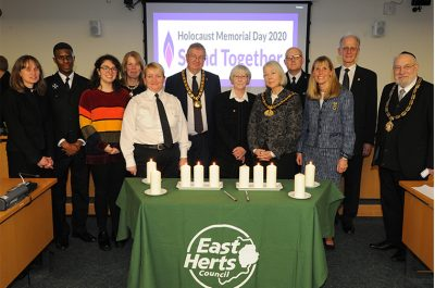 East Herts Holocaust Memorial Day 2020