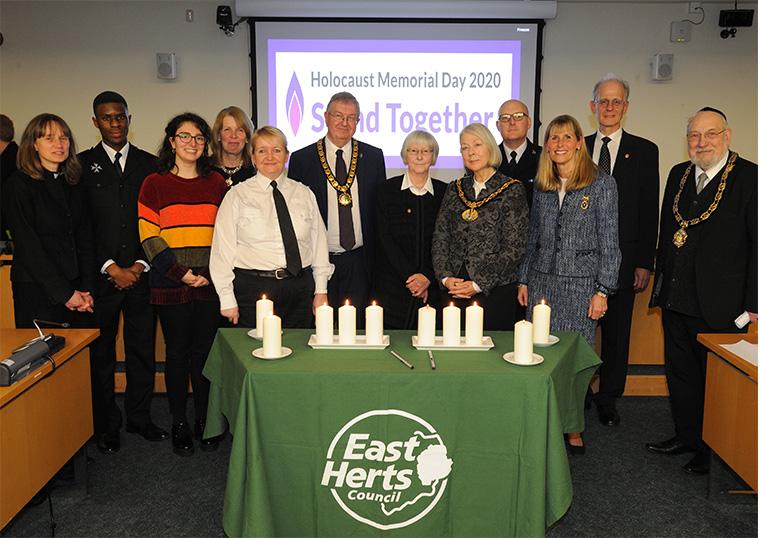 East Herts Holocaust Memorial Day 2020