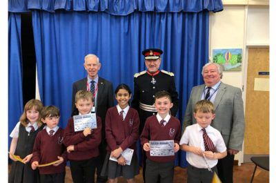 Visit to Chorleywood Primary School