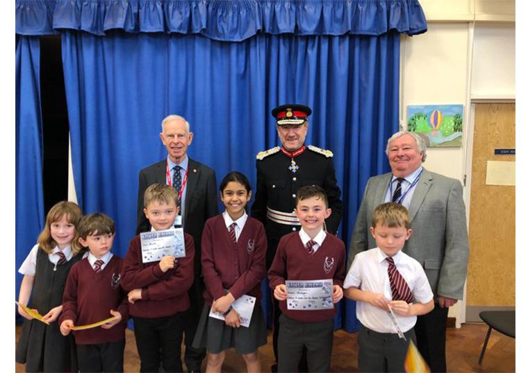 Visit to Chorleywood Primary School