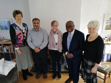 St Albans Deputy Lieutenants Meet Local MP Daisy Cooper