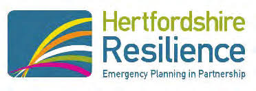 Hertfordshire Local Resilience Forum  – stakeholder update