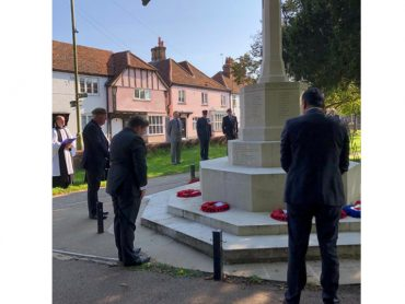 Abbots Langley Battle of Britain Remembrance Ceremony