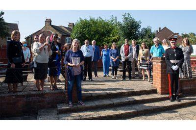 QAVS presentation to Mill End Community Centre