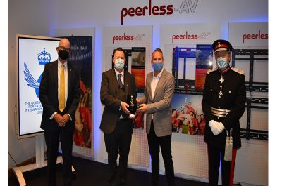 Peerless-AV presented with Queen's Award for Enterprise