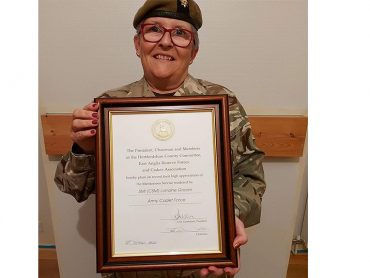 Reserve Forces Awards Virtual Event